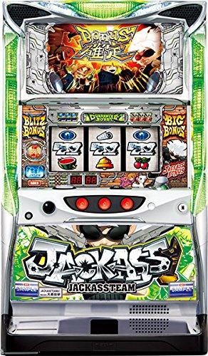 【中古】パチスロ実機 大都技研 ジャッカスチームA7 【コイン不要機セット】届いた日に遊べる