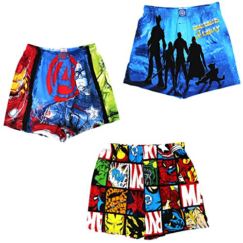 Marvel Comics Mens Cotton Boxer Shorts