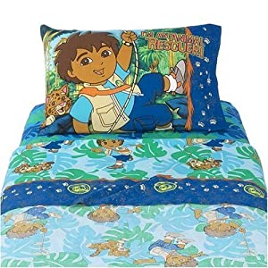 Diego Toddler Bed Sheet Set