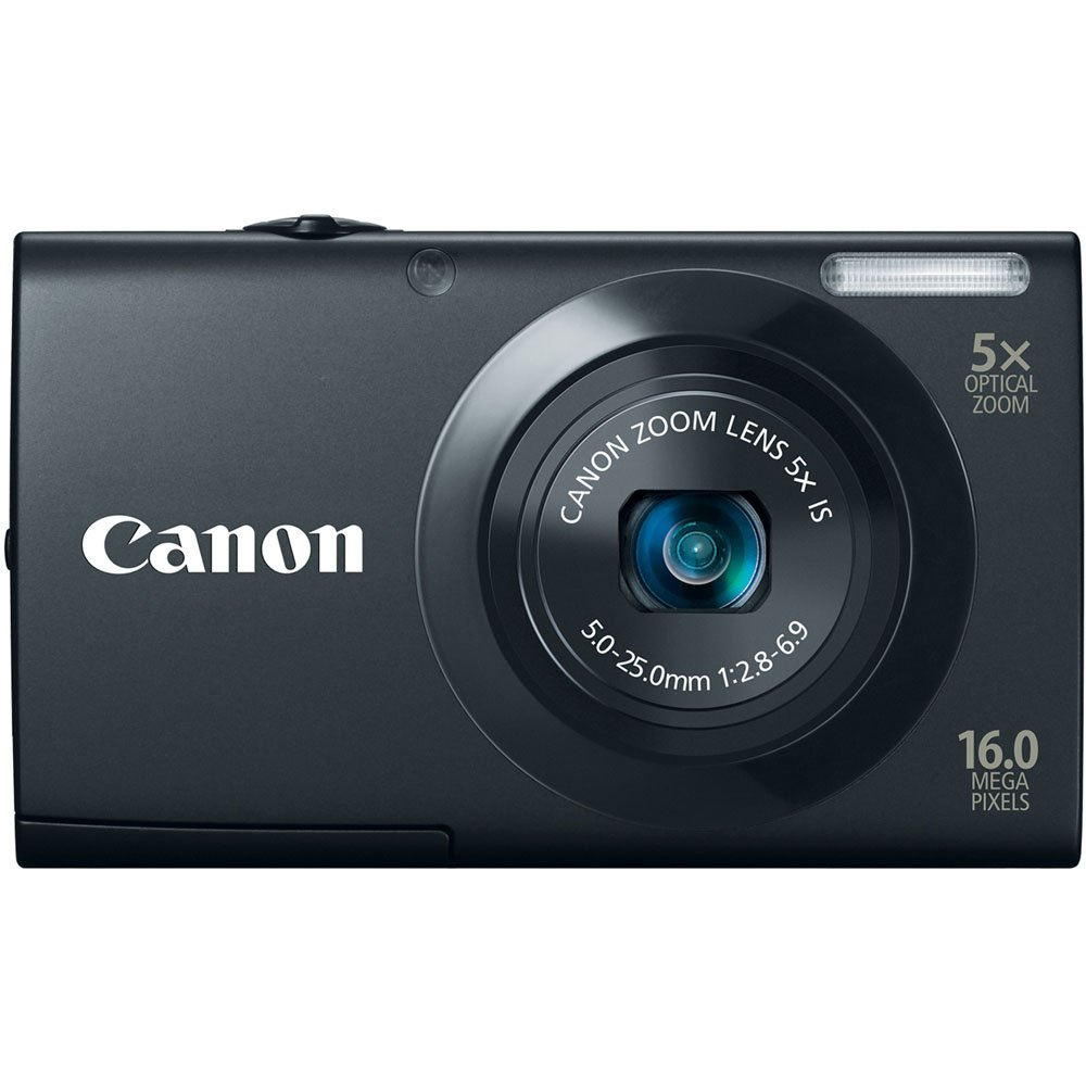 Canon PowerShot A3400 IS 16.0 MP Digital Camera with Wide-Angle Lens with 720p HD Video and 3.0-Inch Touch Panel LCD (Black) $69.99