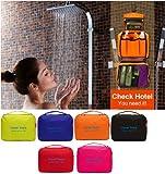 DIGITRONICS LTD Organizer Unisex Luxury Hanging Bag Folding Large Toiletries Makeup Hiking Bag Gym Bag Multi Usage (Red)