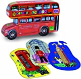 London 3 wood puzzles by Nathalie L�?©t�?© by Vilac
