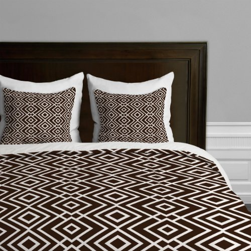 Deny Designs Khristian A Howell Theory Wallpaper Duvet Cover, King