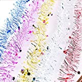 Generic Silver : Hanging Prom Christmas Tree Decoration Five Colors Festival Party Bar Ornaments Wedding Marriage...