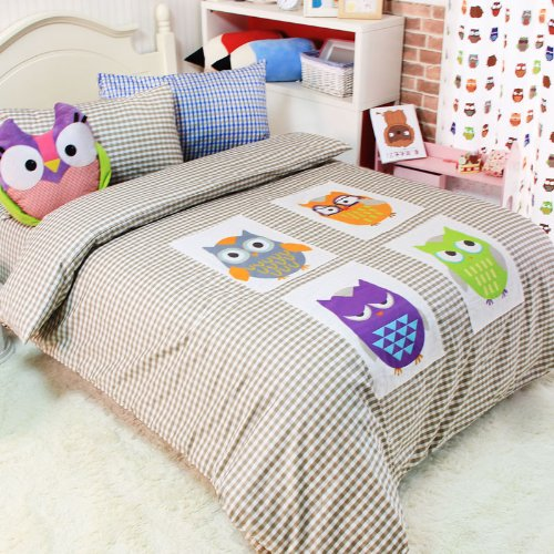YOYOMALL Cartoon Anime Owl 4 Piece