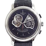 [ゼニス]ZENITH メンズ腕時計 クロノマスター オープン グランドデイトXXT 03.1260.4039/21.C611 ブラック文字盤 中古