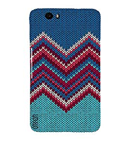 Omnam Blue And Other Color Combination Printed Back Cover Case For Google Nexus 6P