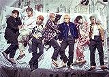 KPOP 韓流 BTS 防弾少年団 正規2集「WINGS」樹脂は膜のA3ポスター (001)