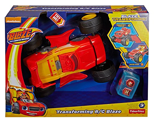 fisher price nickelodeon blaze the monster machines transforming r c blaze vehicle toys games. Black Bedroom Furniture Sets. Home Design Ideas