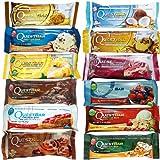 Quest Bars High Protein Gluten Free, Original Variety Pack, 12-Bars