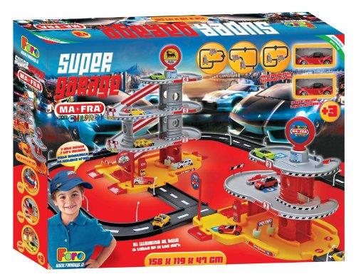 Faro 707 super garage 4 livelli con garage 3 livelli for Garage a 2 livelli