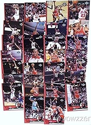 Michael Jordan Complete 30 Card Upper Deck Career Tribute Set Highlighting his Legendary Hall of Fame Career with 6 NBA Titles $60 !!