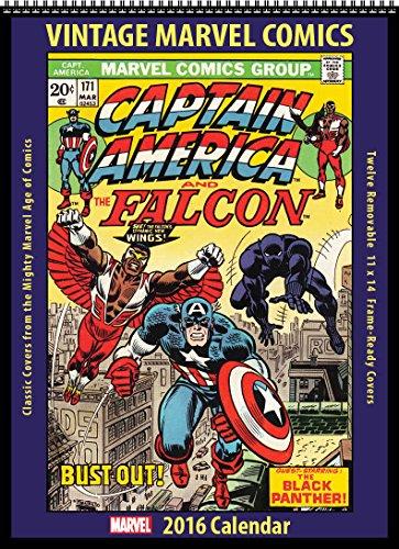Marvel Comics 2016 Vintage Calendar
