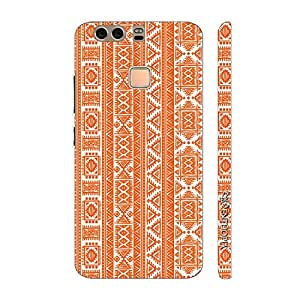 Enthopia Designer Hardshell Case Orange Indian Back Cover for Huawei P9 Plus