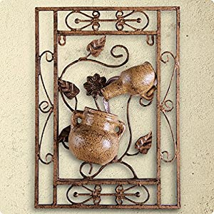 Sorrento Wall Art Self Contained Water Featur from Kelkay