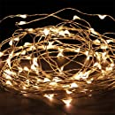 Coco LED 33FT Copper Wire LED Starry Lights 100LED String...