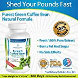Green Coffee Bean Extract with GCA® - 50% Chlorogenic Acid - 100% All-Natural - Premium Quality - Weight Loss Benefits and More - No Artificial Additives - 30 Day Supply at 1600mg/Day- Satisfaction Guaranteed - NEW Released