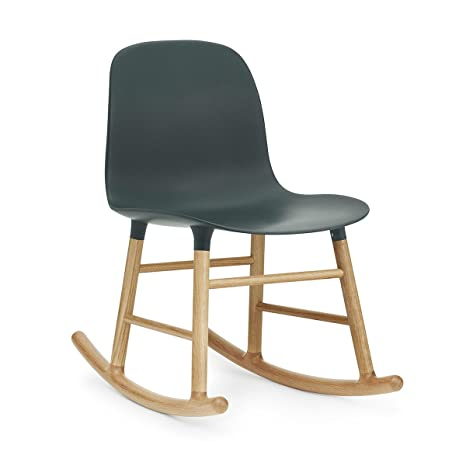 Normann Form Rocking Chair Oak - Green