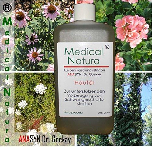 500ml Hautöl, Schwangerschaftsstreifenöl, zur unterstützenden Vorbeugung von Schwangerschaftsstreifen, ab der ersten Schwangerschaftswoche. Naturprodukt.