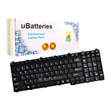 UBatteries Compatible Keyboard Replacement For Toshiba Satellite L555D-S7005 4H.N9201.061 6037B0026902 9J.N9282.801 9J.N9282.W01 9J3N9282A01 A000039270 AEBD3U00050 AEBD3U00150-US MP-06873US-9204