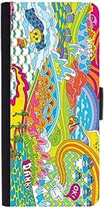 Snoogg Hippie Trip 2852 Designer Protective Flip Case Cover For Sony Xperia Z2
