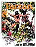 img - for Tarzan: Burne Hogarth's Lord of the Jungle book / textbook / text book