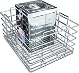 Now & Ever Stainless Steel Kitchen Grain Basket, 15x20x10 inches, Silver, 1-piece