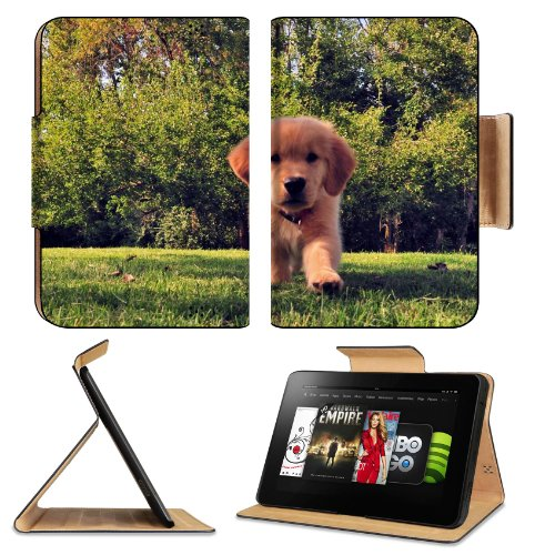 Funny Summer Dog Puppy Grass Amazon Kindle Fire Hd 8.9 [2012 Version] Flip Case Stand Magnetic Cover Open Ports Customized Made To Order Support Ready Premium Deluxe Pu Leather 9 13/16 Inch (250Mm) X 6 7/8 Inch (175Mm) X 11/16 Inch (17Mm) Liil Professiona front-951670