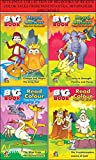 COLLECTION OF BIG BOOKS OF READ N COLOR TALES FROM PANCHTANTRA, HITOPADESH AND JATAKA