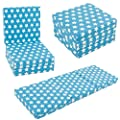 KIDS CHAIRBED - BLUE STARS Kids Folding Chair Bed Futon Guest Z bed Childrens