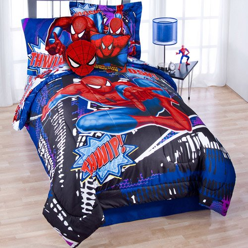 Marvel Ultimate Spiderman Twin Comforter Amp Sheet Bedding