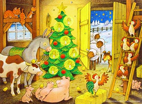 Advent Calendar Farmyard Christmas