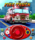 Fire Truck Steering Wheel Sound Book (Little Drivers Steering Wheel Sound Book)