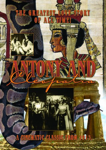 Cover art for  Antony and Cleopatra