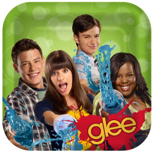 Glee Large Paper Plates (8ct)