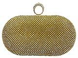 #10: Oglivay Gold Beads Clutch