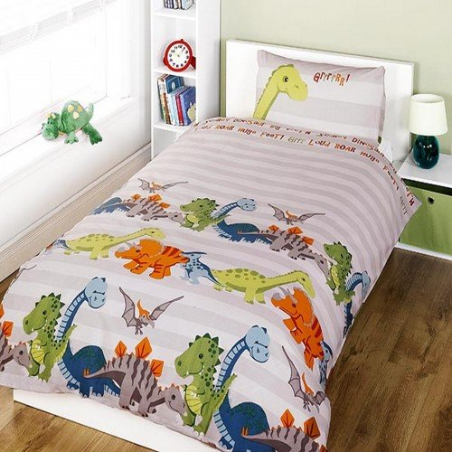 Parure-de-lit-enfant--motif-dinosaure