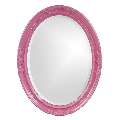 Howard Elliott 40101Hp Queen Ann Hot Pink Mirror