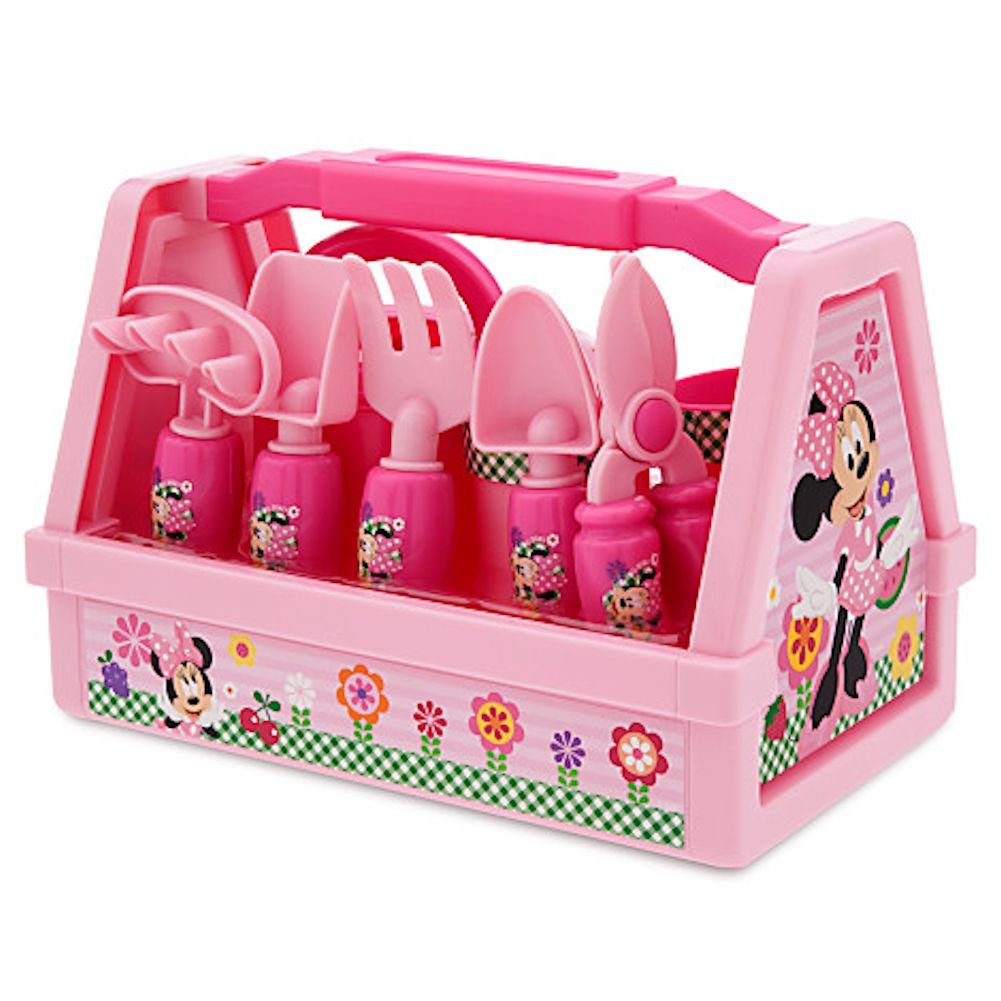 disney minnie mouse gardening set pink 9 pc outdoor. Black Bedroom Furniture Sets. Home Design Ideas