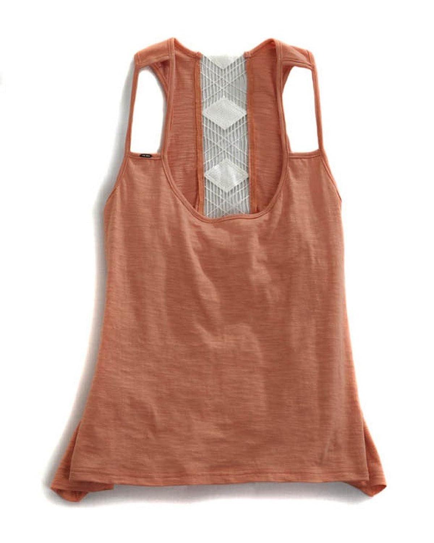 Tin Haul Western Shirt Womens S/S Crochet Orange 10-037-0083-0700 OR blu pepper new orange women s size small s junior ribbed crochet blouse $38