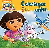Dora l'Exploratrice - Coloriages codés (Oiseau bleu)...