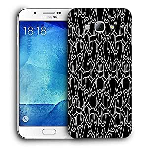 Snoogg Abstract Locks Printed Protective Phone Back Case Cover For Samsung Galaxy Note 5