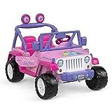 Power Wheels Disney Princess Jeep Wrangler (Color: Multi-color)