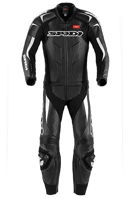 Spidi y 128-011 policier supersport touring en cuir noir/blanc taille 50