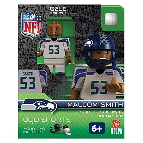 Malcolm Smith OYO NFL Seattle Seahawks G2 Series 3 Mini Figure Limited Edition