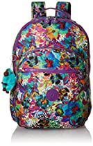 Kipling Seoul Backpack, Aloha Grove Purple, One Size