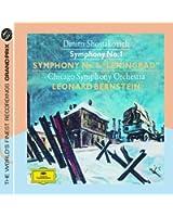 "Chostakovitch : Symphonies n° 1 et n° 7 ""Léningrad"""