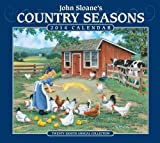John Sloanes Country Seasons 2014 Deluxe Wall Calendar: Twenty-eighth Annual Collection