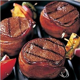Omaha Steaks 5 oz. Bacon-Wrapped Top Sirloi