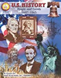 img - for U.S. History, Grades 6 - 8: People and Events: 1607-1865 (American History Series) book / textbook / text book